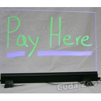 Affordable LED TY912 Clear Writable Illuminated LED Board, 9 x 12