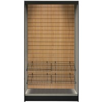 All State ASMMS361-DO Micro Market Display with Oak Slats 36