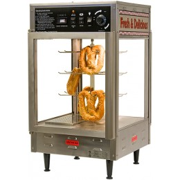 Benchmark 51012 Pizza / Pretzel Humidified Warmer Display 12