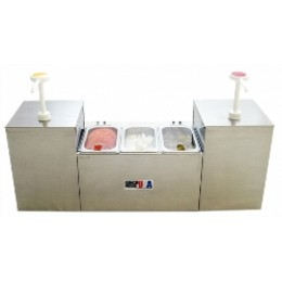 Benchmark USA 52001 Condiment Station
