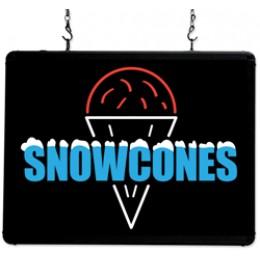 Benchmark USA Ultra-Bright Merchandising Sign Snow Cones