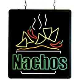 Benchmark USA Ultra-Bright Merchandising Sign Nachos