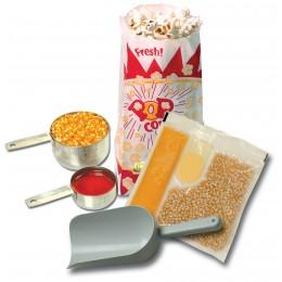 Benchmark 45004 Popcorn Starter Kit for 4oz. Popcorn Popper