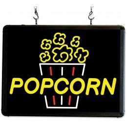 Benchmark USA 92001 Ultra-Bright Merchandising Sign Popcorn
