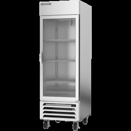 Beverage Air HBR23HC-1-G Horizon Series Bottom Mount Reach-In Refrigerator, 23 cu. ft., Right-Hand Hinges, Glass Door