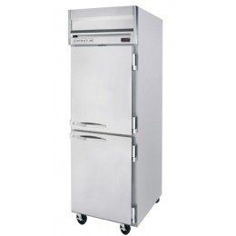 Beverage Air HF1HC-1HS Horizon Series Half-Solid Door Freezer, 24 cu. ft.