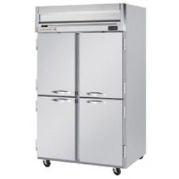 Beverage Air HF2-1HS Horizon Series Half-Solid Door Freezer, 49 cu. ft.