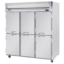Beverage Air HF3-5HS Horizon Series Half-Solid Door Freezer, 74 cu. ft.