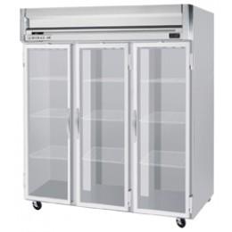 Beverage Air HFS3-5G Horizon Series Glass Door Refrigerator, 74 cu. ft.
