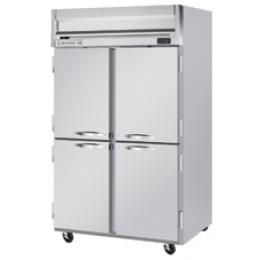Beverage Air HR2-1HS Horizon Series Half-Solid Door Refrigerator, 49 cu. ft.