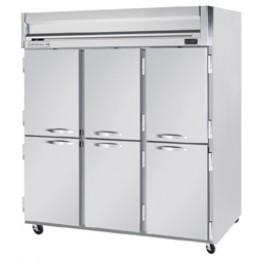 Beverage Air HR3-1HS Horizon Series Half-Solid Door Refrigerator, 74 cu. ft.
