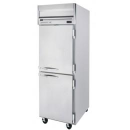 Beverage Air HRP1HC-1HS Horizon Series Half-Solid Door Refrigerator, 24 cu. ft.