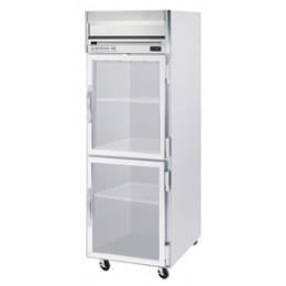 Beverage Air HRPS1-1HG Horizon Series Half-Glass Door Refrigerator, 24 cu. ft.