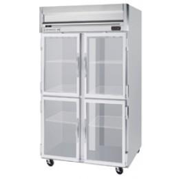 Beverage Air HRPS2-1HG Horizon Series Half-Glass Door Refrigerator, 49 cu. ft.