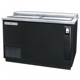 Beverage Air DW49HC-B Frosty Brew Black Bottle Cooler Deep Well 50