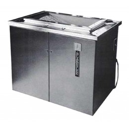 Blakeslee BB-1224 Silverware/Flatware Burnisher 48 Dozen Capacity 2 Gallon Compound Tank 1.5hp
