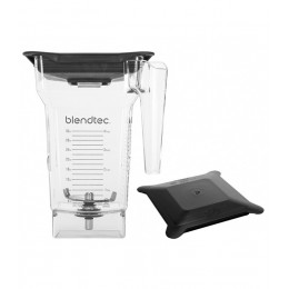 Blendtec 40-609-62 Blendtec Clear FourSide Jar with Hard Lid
