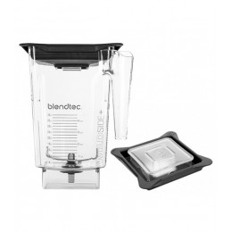 Blendtec 40-630-60 Clear WildSidePlus Jar with Vented Gripper Lid