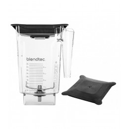 Blendtec 40-630-61 Clear WildSidePlus Jar with Soft Lid