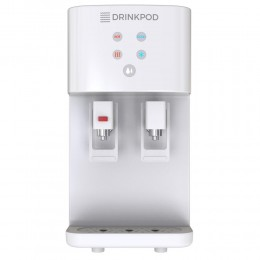 Blu Logic DP2000 Countertop Bottleless Water Cooler with Hot and Cold Temperatures, White
