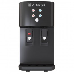 Blu Logic DP2000B Countertop Bottleless Water Cooler with Hot and Cold Temperatures, Black