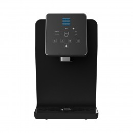 Blu Logic USA Kemore KM1000B Series Countertop Bottleless Water Cooler with Hot Cold and Ambient Temperatures - Black