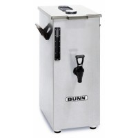 Bunn TD4T 4 Gallon Iced Tea Dispenser with Brew-Through Lid - Square