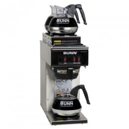 Bunn VP17-3 Pourover Brewer w/ 2 Upper and 1 Lower Warmer