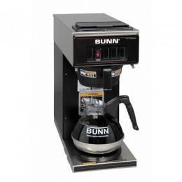 Bunn VP17-1 BLK Pourover Coffee Brewer w/ 1 Lower Warmer Black 120V