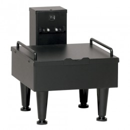 Bunn Soft Heat Single Server Docking Station with 4in Adjustable Legs
