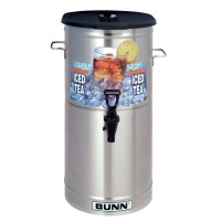 Bunn TDO-5 5 Gallon Iced Tea Dispenser with Brew-Through Lid