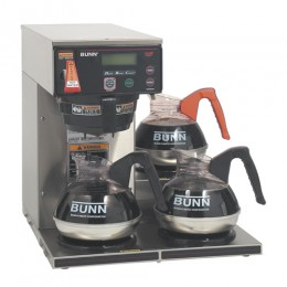 Bunn Axiom 15-3 Automatic Coffee Brewer with 3 Lower Warmers 120V
