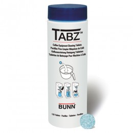 Bunn Tabz Coffee Brewer Cleaning Tablets 12/CS