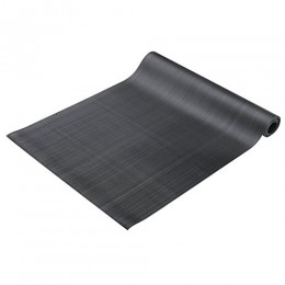 Cactus Mat 1000R-C2 Corrugated Rubber Runner Roll Black 24