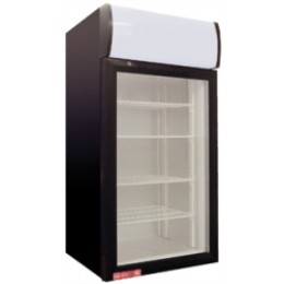 Cecilware CTR2.68LD Countertop Display Refrigerator 2.7 Cu Ft