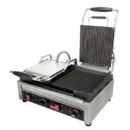 Cecilware SG2LG Panini Sandwich Grill Double Grooved 240V