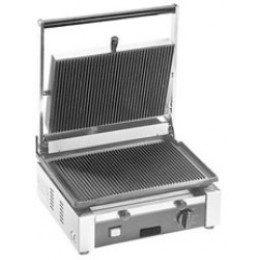 Cecilware TSG1G Panini Sandwich Grill Single Grooved 120V