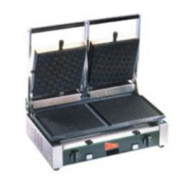 Cecilware TSG2G Panini Sandwich Grill Double Grooved 240V