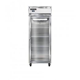 Continental 1FE-LT-GD Glass Door Low Temperature Extra Wide Reach In Freezer 28.5