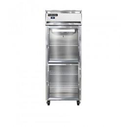Continental 1FE-LT-GD-HD Glass Half Door Low Temperature Extra Wide Reach In Freezer 28.5