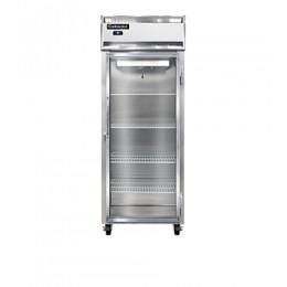 Continental D1RENGD Designer Line Extra Wide Glass Door Reach In Refrigerator 28.5