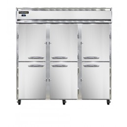 Continental DL3F-PT-HD Designer Line Half Door Pass Through Freezer 78