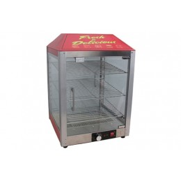 Cozoc PW5002-3 Two Door Pizza Warmer/Merchandiser 120V