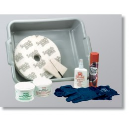 Cretors 10837 Giant Cleaning Kit for 16