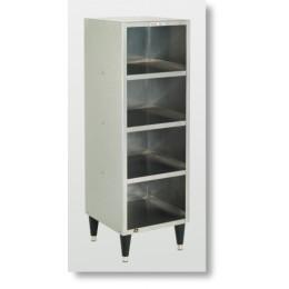 Cretors Heated Bag-in-Box 4-shelf Backroom Warmer