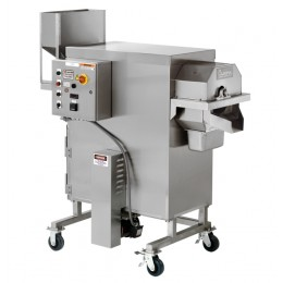 Cretors FT40 Hot Air Popper, 208V/3PH/60HZ, Controls Panel UL, Right Side Feed, Straight, Mobile