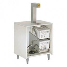 Cretors Bag in Box Topper Dispenser System, Heated Lines, Box Rack Heater, Push Bar/Button
