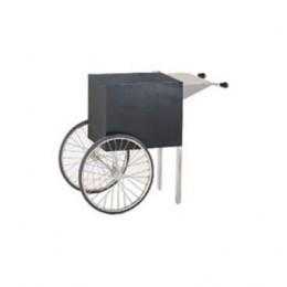 Cretors NCKS-X 2-Wheel Wagon for Nite Club Popper Black Knockdown