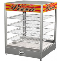 Doyon DRP4 Tabletop Pizza Warmer Merchandiser 4 Shelf