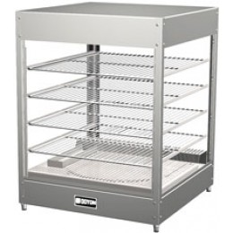 Doyon DRP4S Tabletop Pizza Warmer Merchandiser 4 Shelf
